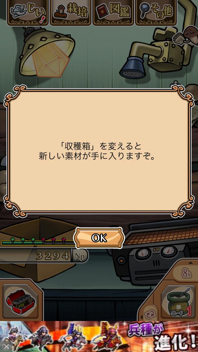 「赤いダンボール」NEOなめこ栽培キット